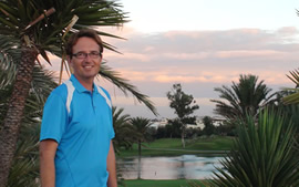Cours de golf internet